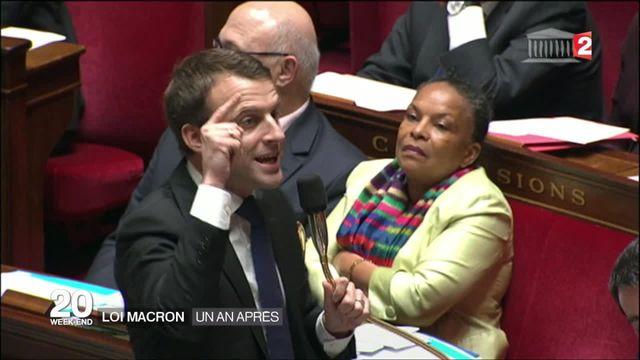Loi Macron : quel bilan après un an ?