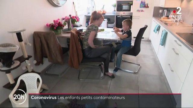 Covid-19 : les Covid-19 : les enfants moins contagieux que prévu ? moins contagieux que prévu ?