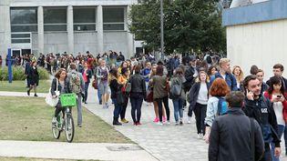 L'université de Strasbourg n'a pas procédé au tirage au sort des étudiants pour la rentrée 2017, mais elle doit faire face à un casse-tête impressionnant pour organiser les cours. (MAXPPP)