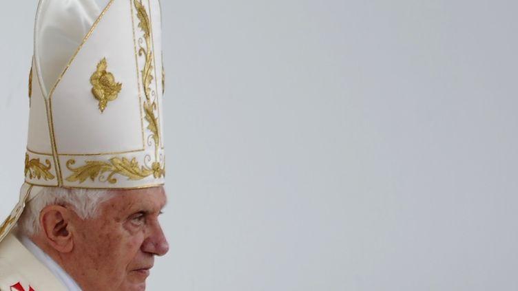 Zagreb (Croatie), le 5 juin2011 visite du papeBenoît XVI (VINCENZO PINTO / AFP)