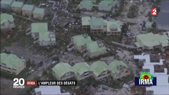Ouragan Irma : l'économie de Saint-Martin anéantie