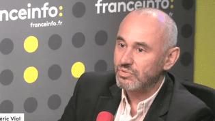 Frédéric Vial (CAPTURE D'ECRAN FRANCEINFO)