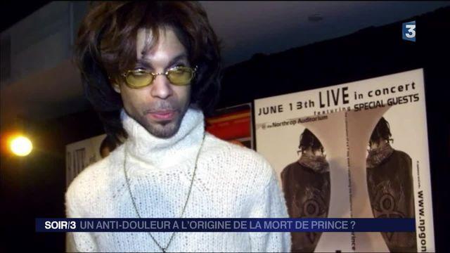 Prince :  un anti-douleur à l'origine de sa mort ?