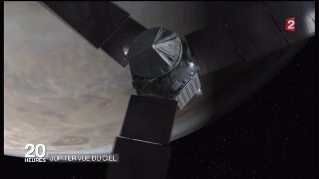 Espace : après cinq ans de voyage, la sonde Juno est en orbite autour de Jupiter