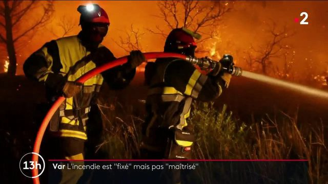 Incendie : le feu ne progresse plus grâce à la météo et au travail des pompiers