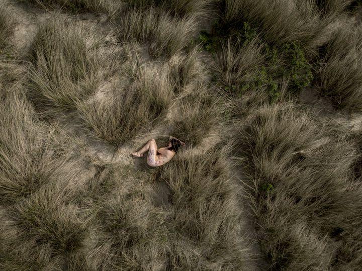 Nu dans les dunes du Touquet (David Templier)