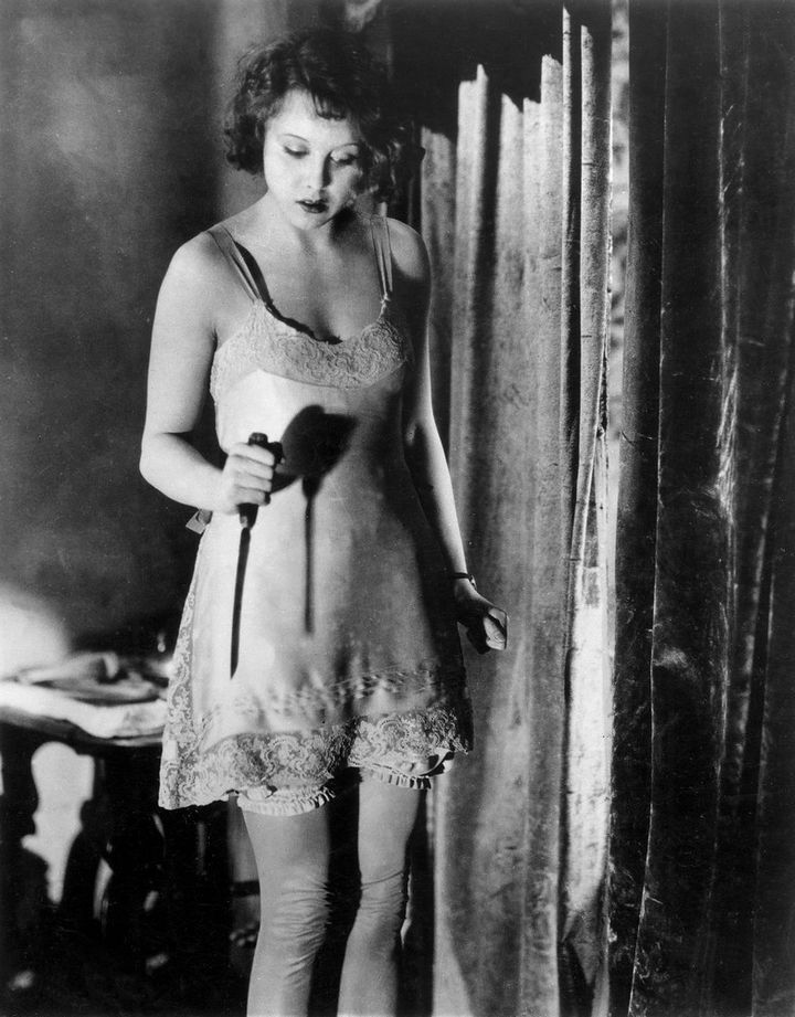 "Anny Ondra dans ""Blackmail"" (1929) d'Alfred Hitchcock  (BFI)"