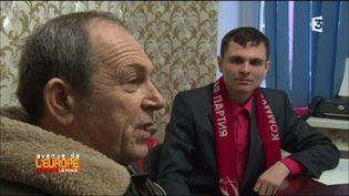 Au PC de Kaliningrad, enclave russe. (FRANCE 3 / FRANCETV INFO)