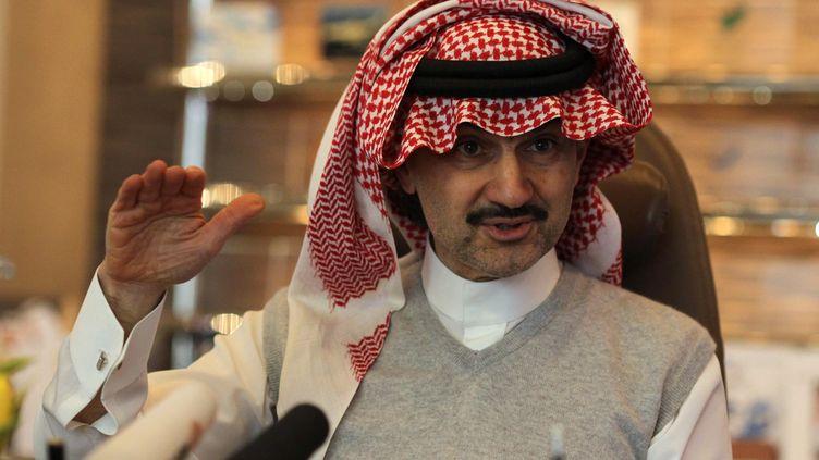 Le prince saoudien Al Walid ben Talal, le 6 mai 2013 à Riyadh (Arabie saoudite). (FAISAL NASSER / REUTERS)