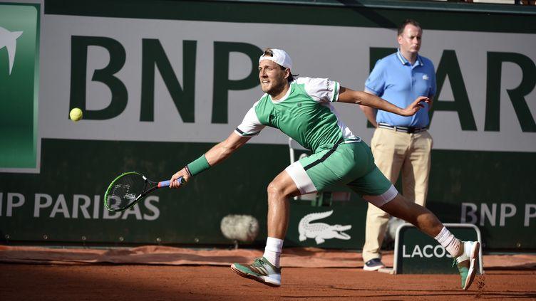 Roland-Garros prend fin au 3e tour pour Lucas Pouille (JEAN MARIE HERVIO / DPPI MEDIA)