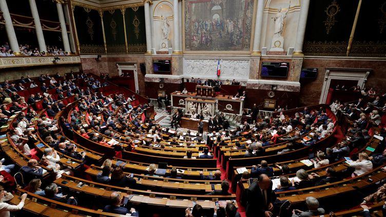 Le projet de révision constitutionnelle arrive en commission ce mardi 26 juin, avant d'être débattu dans l'hémicycle en juillet. (THOMAS SAMSON / AFP)