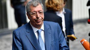 Le maire de Levallois-Perret (Hauts-de-Seine), Patrick Balkany, le 9 août 2017. (JULIEN MATTIA / NURPHOTO / AFP)