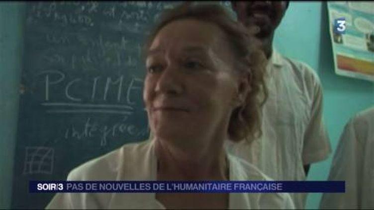 Sophie Petronin en 2009, l'humanitaire enlevée à Gao (Mali) (FRANCE 3)