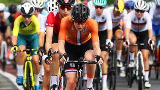 Anna van der Breggen et les Néerlandaises seront encore les favorites au titre mondial 2021 en Belgique. (MICHAEL STEELE / POOL)