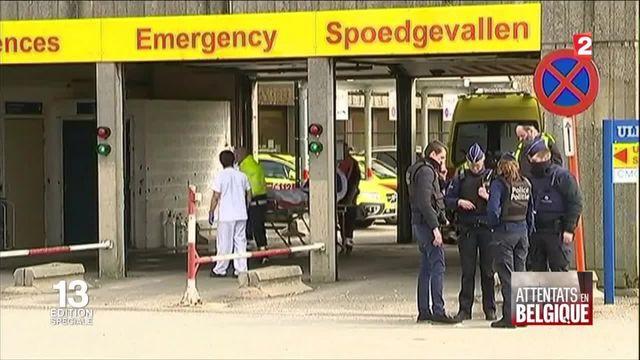 Attentats en Belgique : le plan catastrophe a été déclenché par les autorités belges