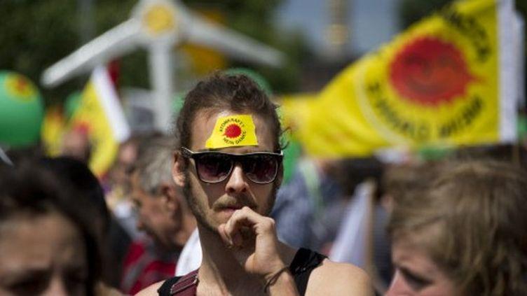 Manifestants anti-nucléaire, à Berlin, le 28 mai 2011 (AFP/Odd Andersen)