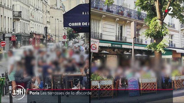 Paris : les terrasses de la discorde