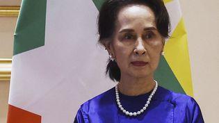 Aung San Suu Kyi (17 janvier 2020). (STR / AFP)