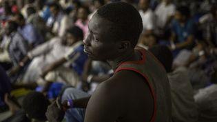 25 personnes, évacuées par le Haut-Commissariat aux réfugiés (HCR) vers le Niger,vontrejoindre la France. (Photo d'illustration) (ANGELOS TZORTZINIS / AFP)