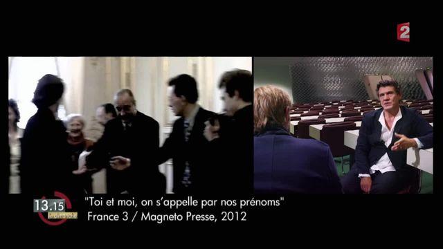 """13h15 le dimanche. Marc Lavoine : """"Les gens différents, c'est de la vie"""""""
