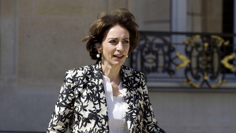La ministre de la Santé, Marisol Touraine, quitte l'Elysée le 14 mai 2014 après le Conseil des ministres. (ALAIN JOCARD / AFP)