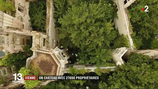 Vienne : un château avec 27 000 propriétaires