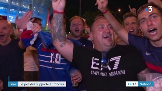 Euro 2021 : la joie des supporters français à l'issue du match France-Portugal