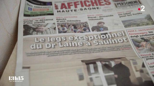 VIDEO. Haute-Saône : un médecin lègue son cabinet à la commune où il a exercé trente ans pour attirer un successeur