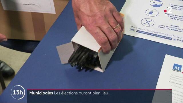 Municipales : les élections auront bien lieu, malgré la menace du coronavirus