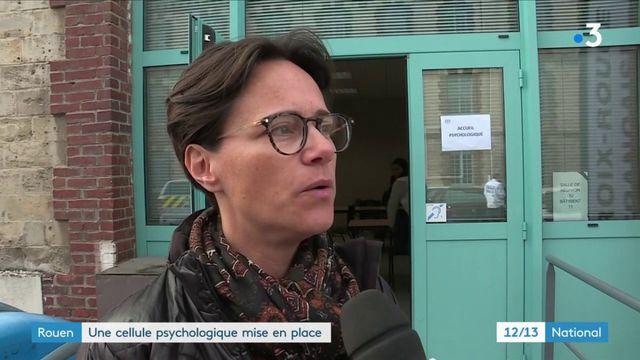 Incendie d'une usine à Rouen : une cellule psychologique mise en place