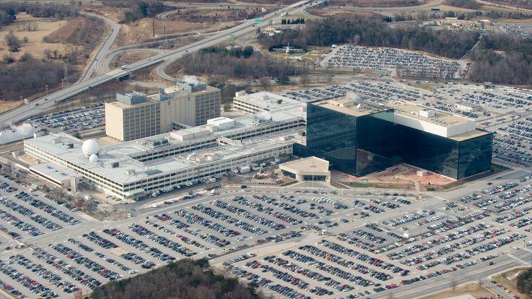 La National security agency (NSA), le 29 janvier 2010 àFort Meade, Maryland (Etats-Unis). (SAUL LOEB / AFP)