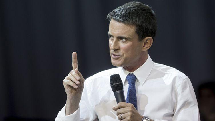 (Manuel Valls ne compte pas toucher à l'article 2 de la loi Travail  © MaxPPP)