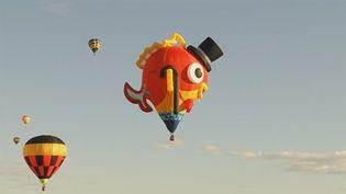 Des montgolfières dans le cield'Albuquerque aux Etats-Unis. (REUTERS)