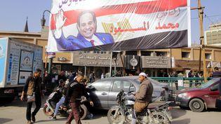 Alors que le premier tour de l'élection présidentielleapproche (28 mars 2018), les journalistes de nouveaux ciblés par le régime d'Abdel Fattah Al Sissi. (KHALED ELFIQI / EPA)