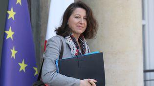 Agnès Buzyn, à la sortie de l'Elysée, à Paris, le 1er avril 2019. (LUDOVIC MARIN / AFP)