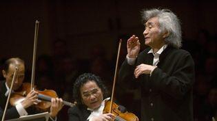 Seiji Ozawa a recommencé à diriger son orchestre  (DON EMMERT / AFP)