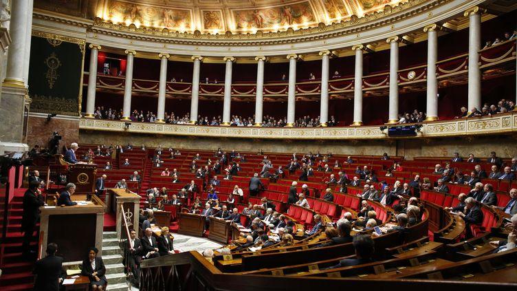 Les députés siègent à l'Assemblée nationale, à Paris, le 16 janvier 2018. (S.CAILLET / BSIP / AFP)
