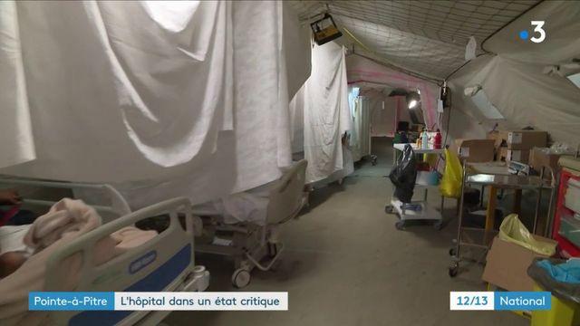 Pointe-à-Pitre : l'hôpital dans un état critique