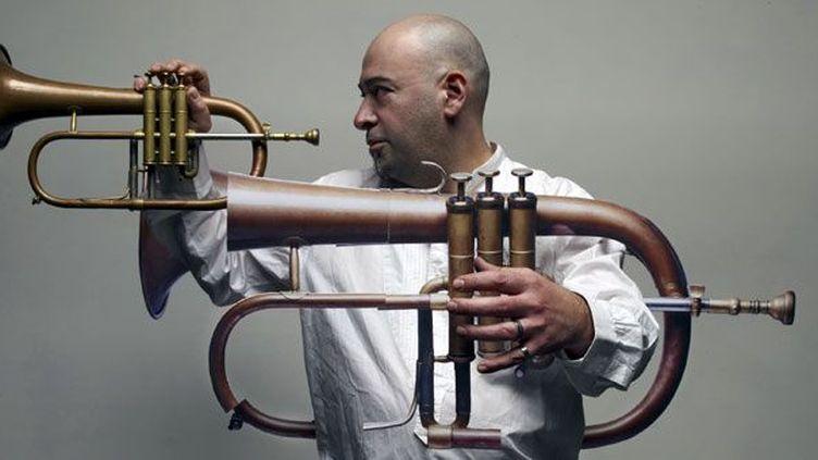 Le trompettiste et bugliste Stéphane Belmondo  (Laurent Seroussi)