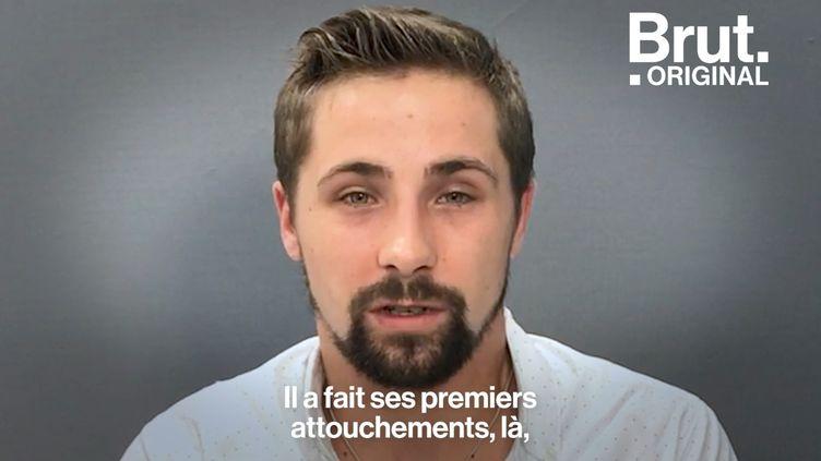 """VIDEO. """"Je me laissais faire quand il venait"""" : le témoignage poignant de Kevin, victime de pédophilie pendant 10 ans (BRUT)"""