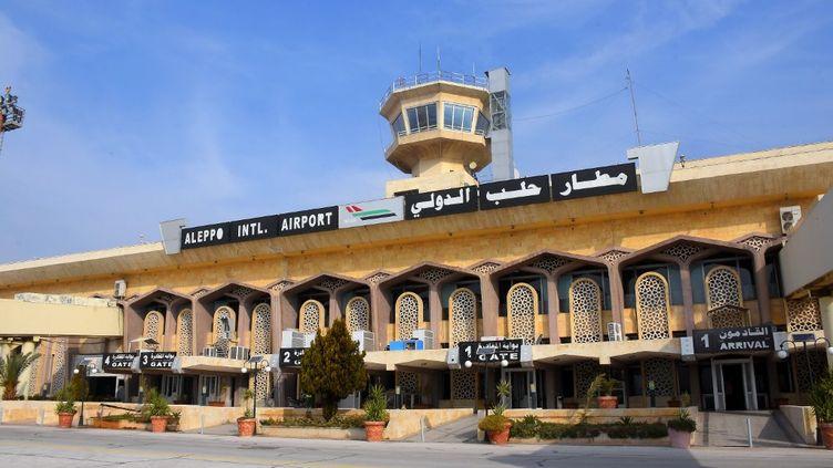 L'aéroport d'Alep, en Syrie, mercredi 19 février 2020. (AFP)