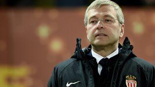 Dmitri Rybolovlev, patron du club de foot l'AS Monaco, le 31 mars 2018 à Bordeaux (Gironde). (NICOLAS TUCAT / AFP)