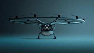 Le taxi volant électriqueVolocity va être testé au Bourget le 21 juin. (VOLOCOPTER)