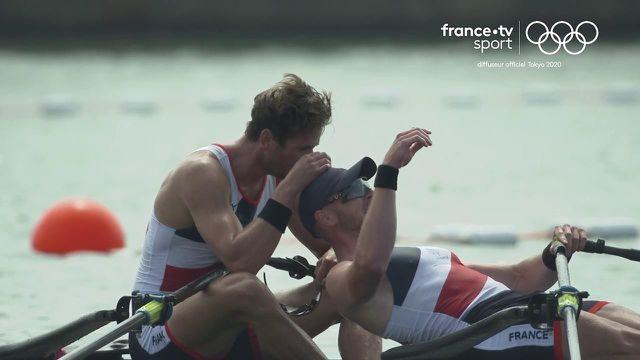 Revivez l'intégralité de la course d'Hugo Boucheron et Matthieu Androdias sacrés champions olympiques d'aviron.