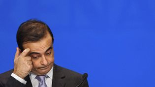 Carlos Ghosn, à Paris, le 29 avril 2005. (ERIC FEFERBERG / AFP)