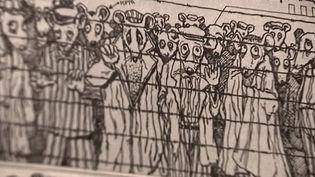 """Image tirée de """"Maus"""" d'Art Spiegelman  (France 3 / Culturebox capture d'écran)"""