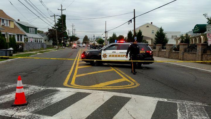 La police a investi le quartier de Paterson, où vivaitSayfullo Saipov. (BENJAMIN ILLY / RADIO FRANCE)