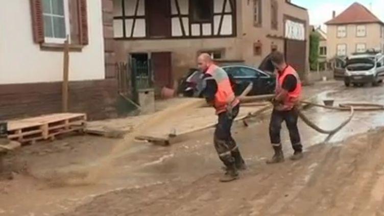 Intempéries Bas-Rhin, mai-juin 2018. (FRANCE 2)