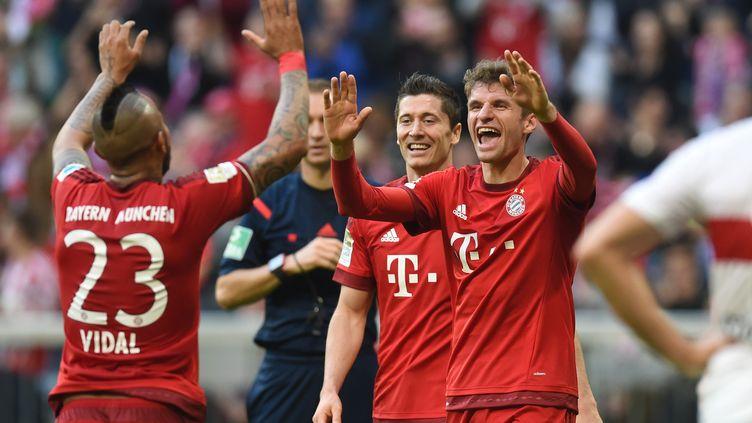 Nouvelle victoire pour le Bayern. (CHRISTOF STACHE / AFP)