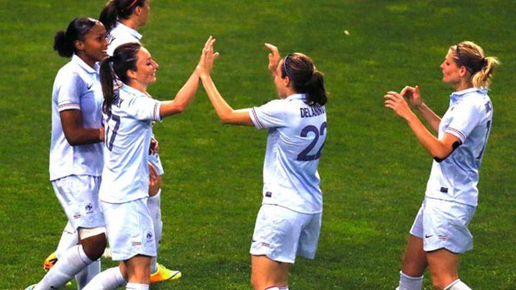 Les joueuses de l'équipe de France féminine